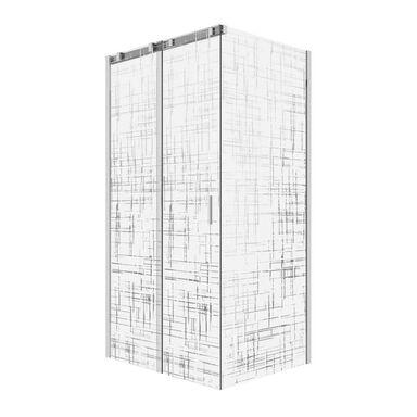 Kabina prysznicowa 80 x 100 cm WELLNEO FENOME LINES