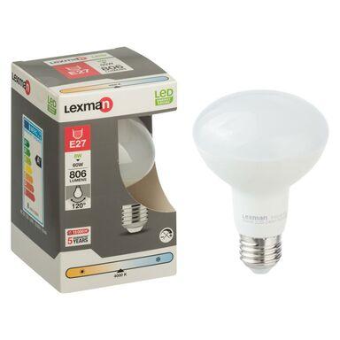 Żarówka LED E27 (230 V) 8 W 806 lm LEXMAN