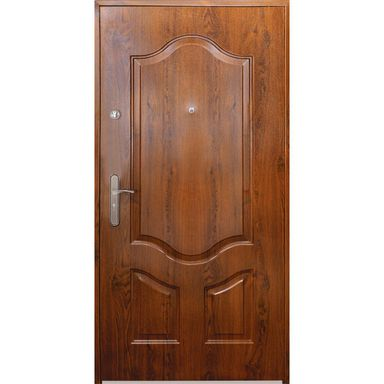 Drzwi wejściowe MAJORKA 90 Złoty dąb Prawe S-DOOR