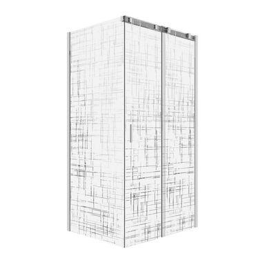 Kabina prysznicowa 80 x 120 cm WELLNEO FENOME LINES