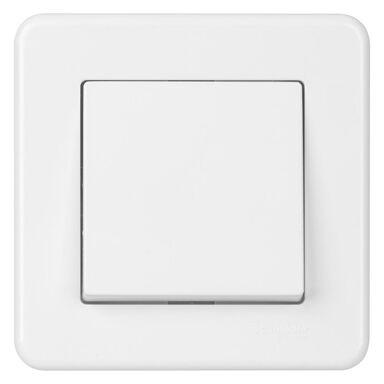 Włącznik pojedynczy LEONA  Biały  SCHNEIDER ELECTRIC