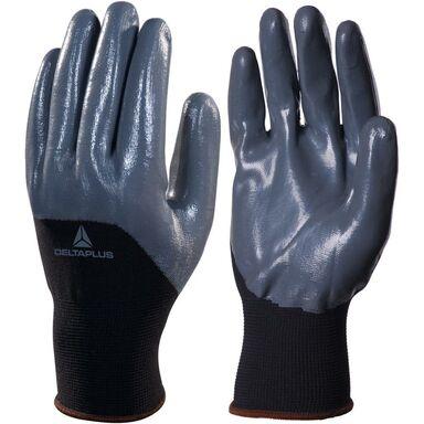 Rękawice nitrylowe VE715GR09  r. 9  DELTA PLUS