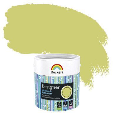Farba wewnętrzna DESIGNER KITCHEN & BATHROOM 2.5 l Energetic Lime BECKERS