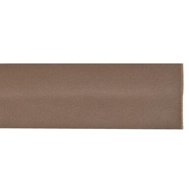 Listwa pod drzwi PVC elastyczna 1 m brązowa GEKO