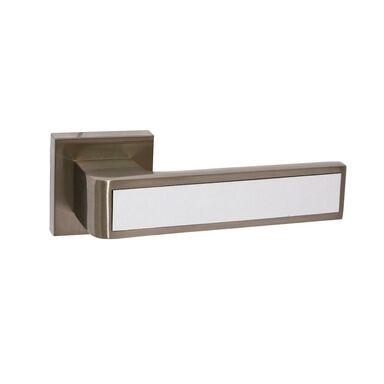 Klamka drzwiowa na rozecie Cube Nikiel