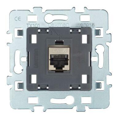 Gniazdo telefoniczno-komputerowe RJ11 / RJ45 LEXMAN