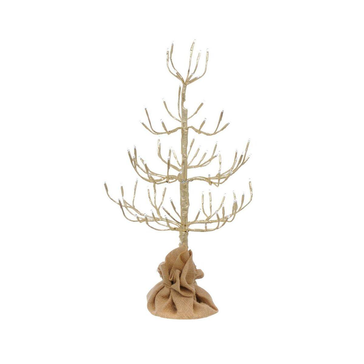 Drzewko Swiecace 60 Cm W Worku Jutowym 72 Led Oswietlenie Swiateczne Zewnetrzne W Atrakcyjnej Cenie W Sklepach Leroy Merlin
