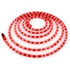 Wąż świetlny zewnętrzny 216 LED 6 m czerwony