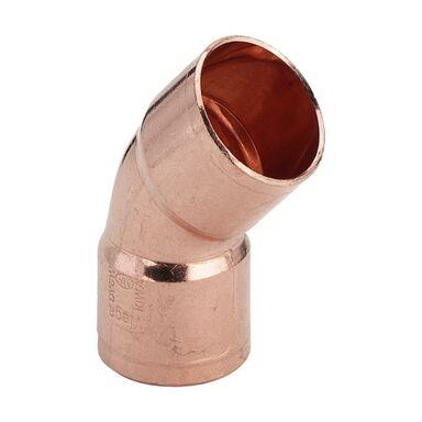 Kolano 45° 2-KIELICHOWE 28 mm VIEGA