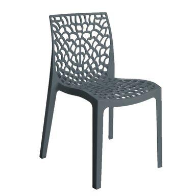 Krzesło Ogrodowe Plastikowe Gruvyer