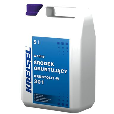 Grunt akrylowy uniwersalny GRUNTOLIT-W 301 5 l KREISEL