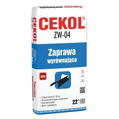 Zaprawa wyrównująca ZW-04 22kg CEKOL