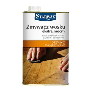 Zmywacz wosku DREWNO WOSKOWANE 1 l extra mocny STARWAX