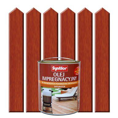 Olej impregnacyjny do tarasów SATURATOR 1 l Drewno egzotyczne SYNTILOR