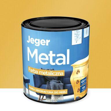 Farba do mebli METAL 0.45 l Złoto Metaliczna JEGER