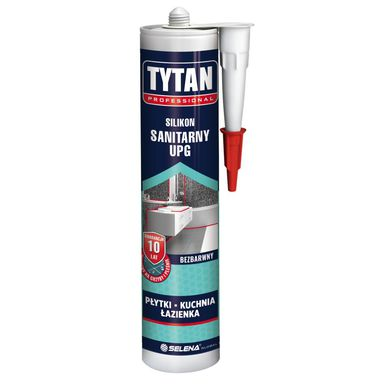 Silikon SANITARNY UPG 280 ml Bezbarwny TYTAN