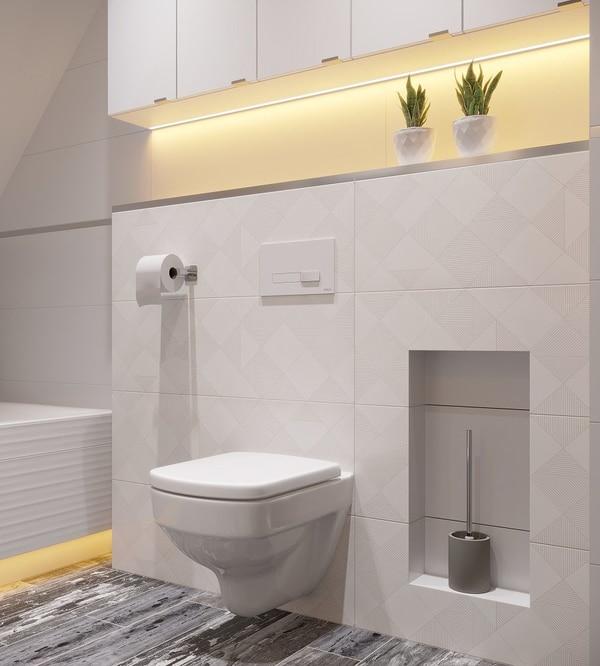 WC w łazience
