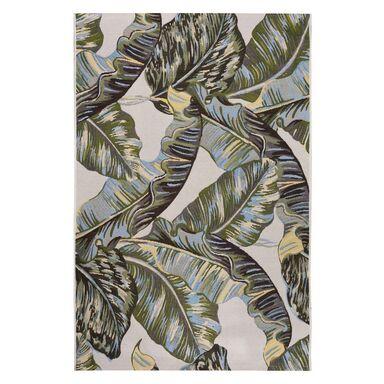 Dywan zewnętrzny w liście Borneo zielono-złoty 60 x 90 cm