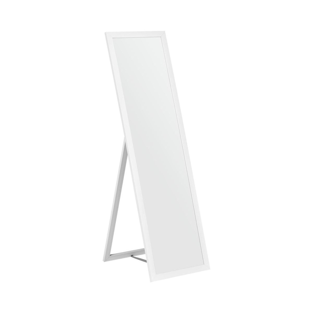 Lustro Stojące L156 Białe 40 X 140 Cm