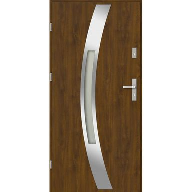 Drzwi wejściowe POLARIS 90 Złoty dąb Lewe EVOLUTION