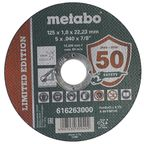 Tarcza do cięcia TF41 125 x 1.0 x 22.23 INOX METABO