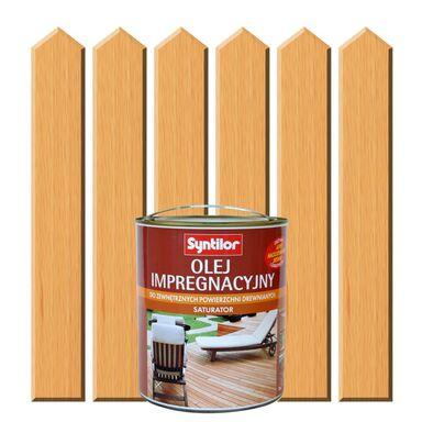 Olej impregnacyjny do tarasów SATURATOR 5 l Drewno naturalne SYNTILOR