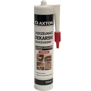 Uszczelniacz dekarski czerwony310 ml AXTON