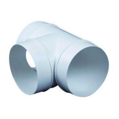 Trójnik kanału wentylacyjnego okrągłego OKRĄGŁY 90° 125 mm EQUATION