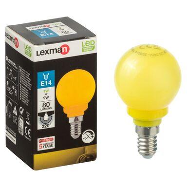 Żarówka LED E14 (230 V) 1 W 249 lm LEXMAN