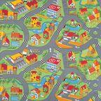 Wykładzina dywanowa na mb LITTLE VILLAGE zielona 3 m
