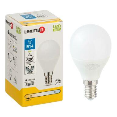 Żarówka LED E14 (230 V) 8 W 806 lm Ciepła biel LEXMAN