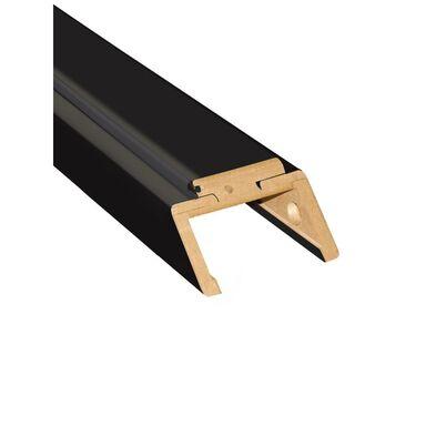 Belka górna ościeżnicy REGULOWANEJ 80 Czarny mat 100 - 120 mm ARTENS
