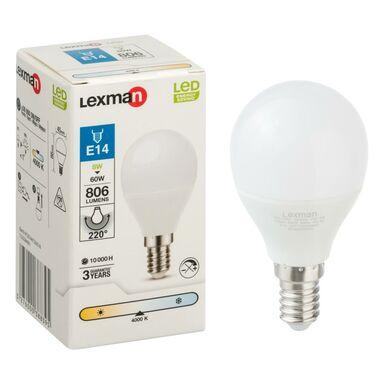 Żarówka LED E14 (230 V) 8 W 806 lm LEXMAN