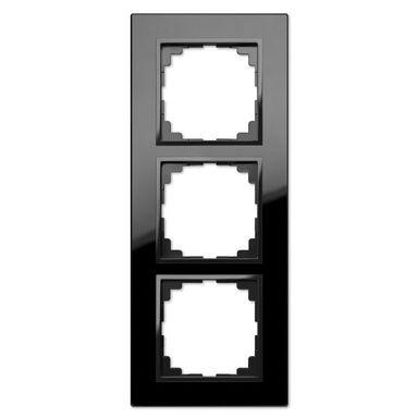 Ramka potrójna SENTIA  Czarny  ELEKTRO-PLAST