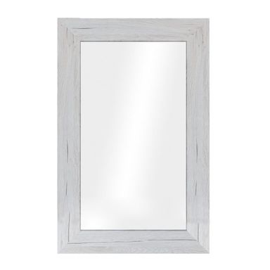 Lustro JYVASKYLA sosna bielona 60 x 86 cm