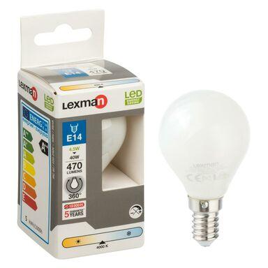 Żarówka LED E14 (230 V) 4,5 W 470 lm Neutralny LEXMAN