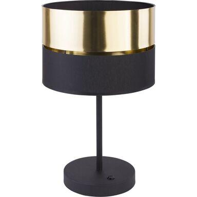Lampa stołowa Hilton czarno-złota E27 TK Lighting