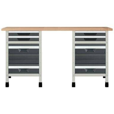Stół warsztatowy WSS 161 cm NR 4 / 8078000 WOLFCRAFT