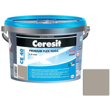 Fuga cementowa WODOODPORNA CE40 14 jasno szary  2 kg CERESIT