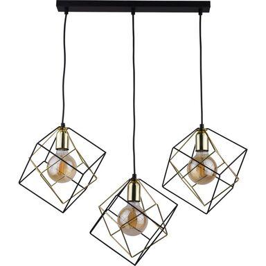 Lampa wisząca ALAMBRE czarno-złota 3 x E27 TK LIGHTING