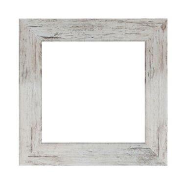 Lustro JYVASKYLA shabby kwadratowe 44 x 44 cm