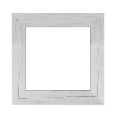 Lustro Jyvaskyla sosna bielona kwadratowe 60 x 60 cm
