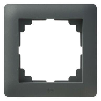 Ramka pojedyncza ASTORIA  antracyt  ELEKTRO-PLAST