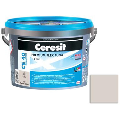 Fuga cementowa WODOODPORNA CE40 102 marble 2 kg CERESIT