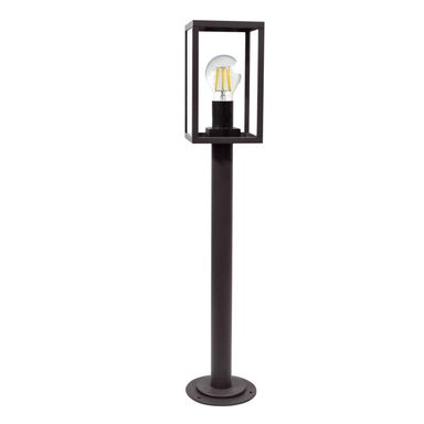 Lampa ogrodowa stojąca MALMO IP44 czarna E27 POLUX