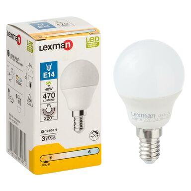Żarówka LED E14 (230 V) 5 W 470 lm Ciepła biel LEXMAN