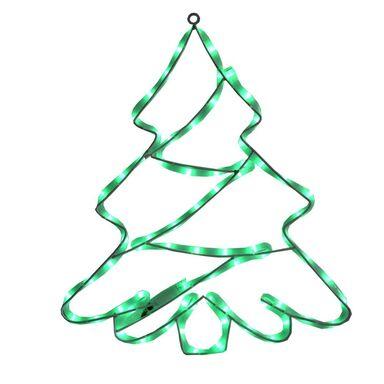 Choinka świecąca 65 cm zielona NEON 72 LED