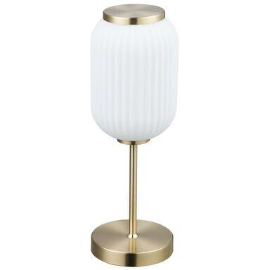 Lampa stołowa NICKI mosiądz E27 ORIVA