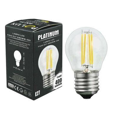 Żarówka LED E27 (230 V) 4 W 400 lm Ciepła biel POLUX