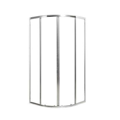 Obudowa do prysznica z drzwiami przesuwnymi z wejściem kątowym NEREA SENSEA